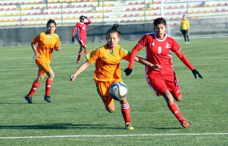 पाँचौं साफ महिला फुटबल प्रतियोगिताका लागि नेपाली टोलीले तयारी तीव्र