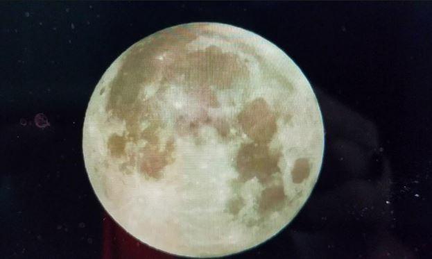 चिसोका कारण ५० मिटरसम्म खुम्चियो चन्द्रमा