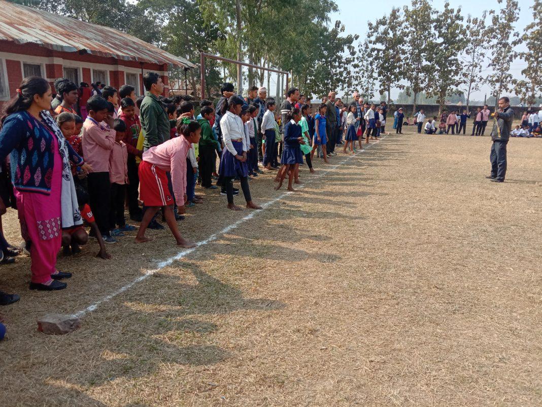 गौरादहमा नगर स्तरीय खेलकुद प्रतियोगिता सम्पन्न