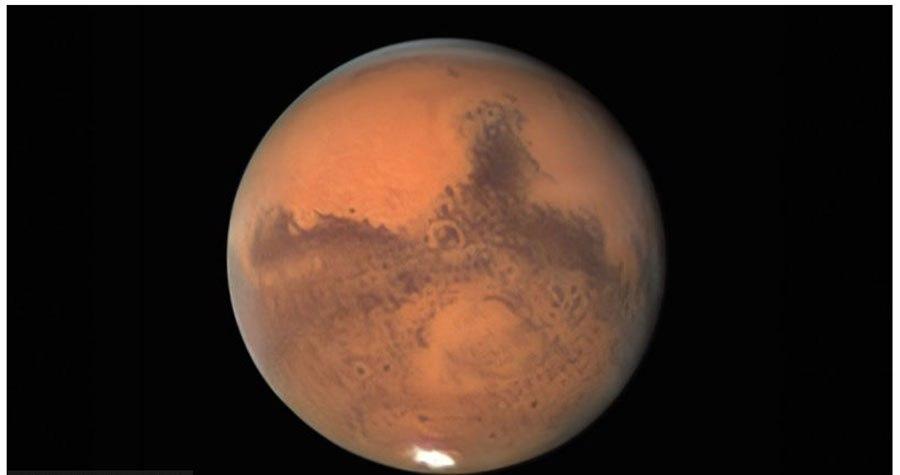 मंगल ग्रह आज ठूलो र चम्किलो देखिँदै