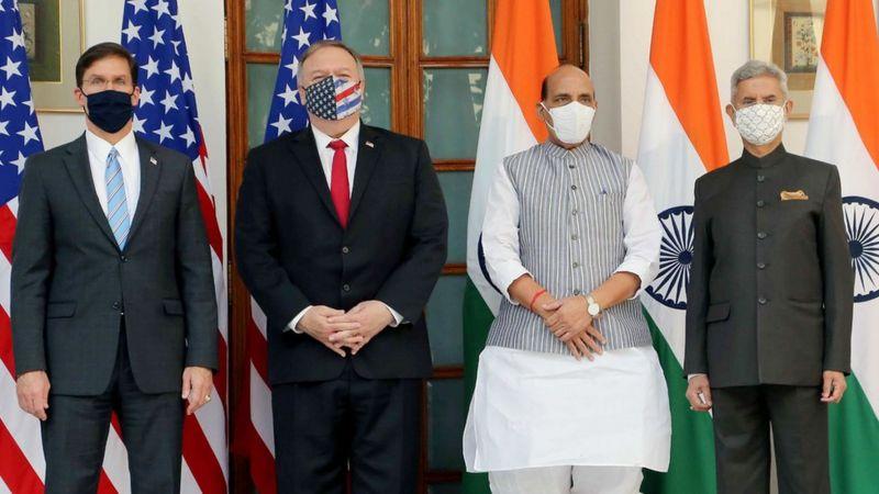 भारत र अमेरिकाबीच रक्षा सम्झौतामा हस्ताक्षर