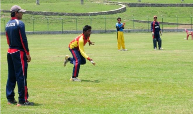 नेपाली क्रीकेट टिमको बन्द प्रशिक्षण हिजो देखि सुरु