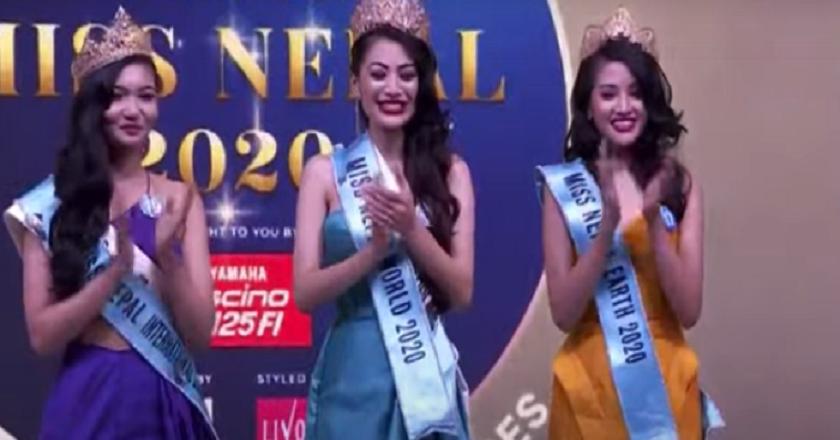 'मिस नेपाल वर्ल्ड २०२०' को उपाधि नम्रता श्रेष्ठको