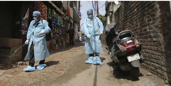 भारतमा संक्रमणको दर घट्यो , मृत्युदर भने उस्तै