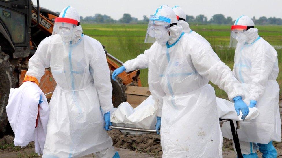 भारतमा मृत्युदर घटेन, थप ६५ हजार संक्रमित, ३ हजार ७१ संक्रमितको मृत्यु