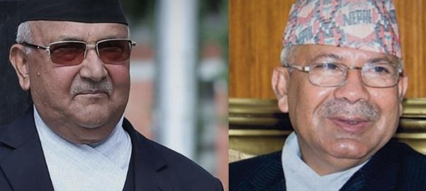केपी ओली र माधवकुमार नेपाल मिल्ने संकेत