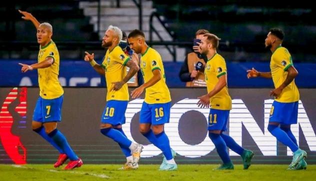 ब्राजिलको दोश्रो जीत