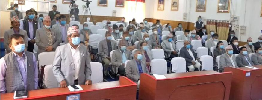 प्रदेश-१मा माओवादी केन्द्रले बैठक अवरुद्ध