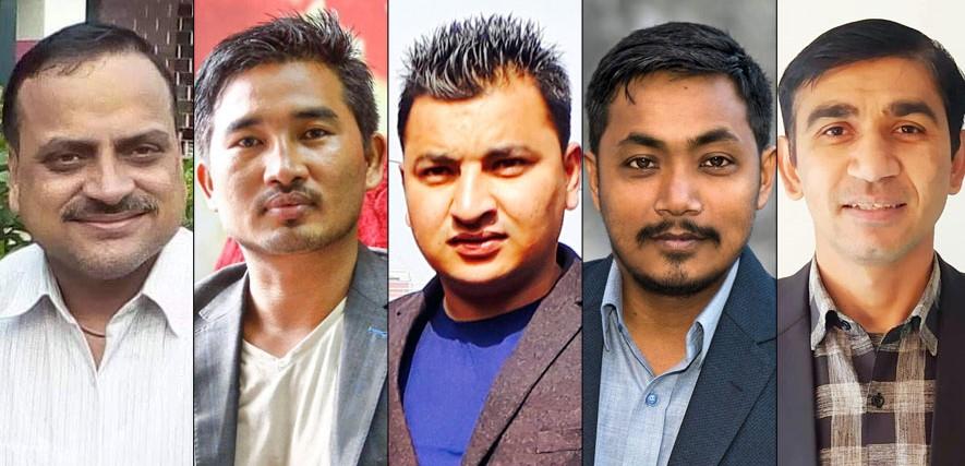 पाँच विद्यार्थी संगठनले सरकारविरुद्ध प्रदर्शन गर्दै