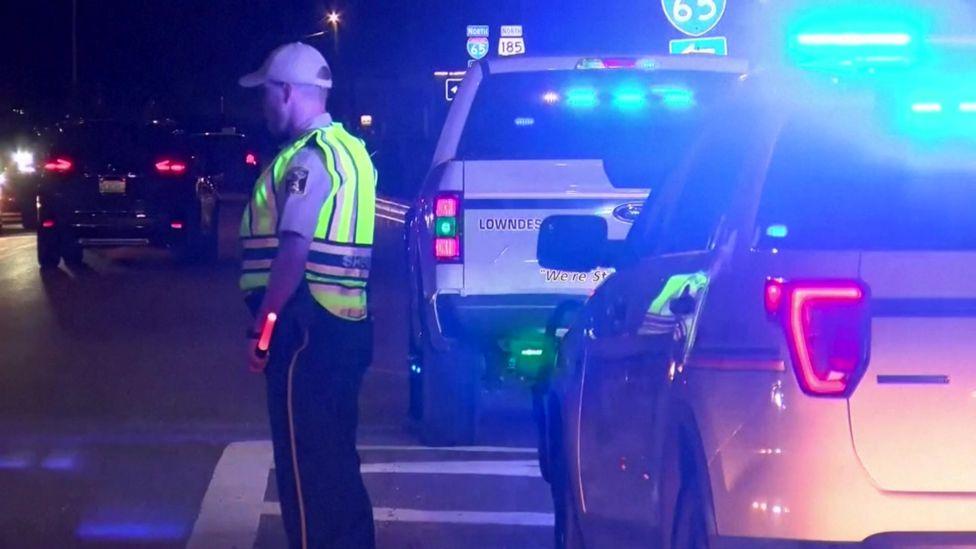 अमेरिकाको आलाबामा १८ वटा सवारी दुर्घटना, १० जनाको मृत्यु