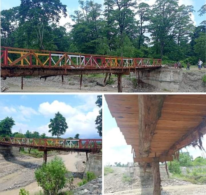 ठाडा सखुवा काटेर सेल्फिपुल : पक्की पुल बन्ने योजना ३ बर्ष देखि अलपत्र