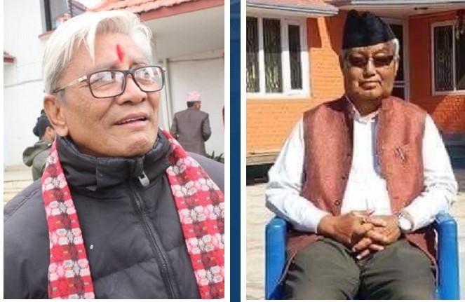 लुम्बिनीमा अमिक शेरचन  र  गण्डकीमा पृथ्वीमान गुरूङ प्रदेश प्रमुखमा नियुक्त