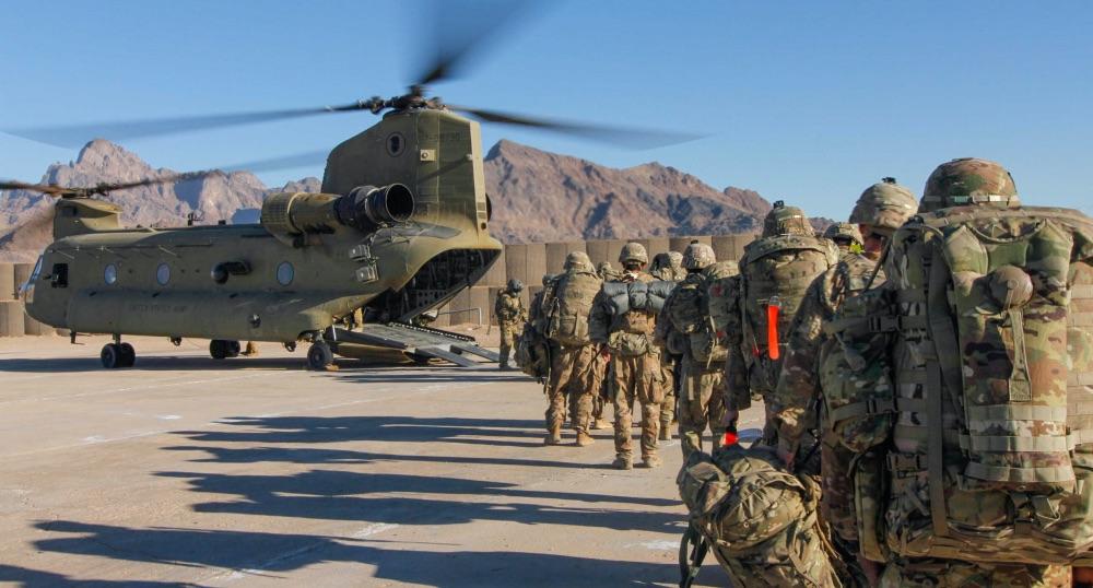 अफगानिस्तानबाट फर्कियो अमेरिकी फौज