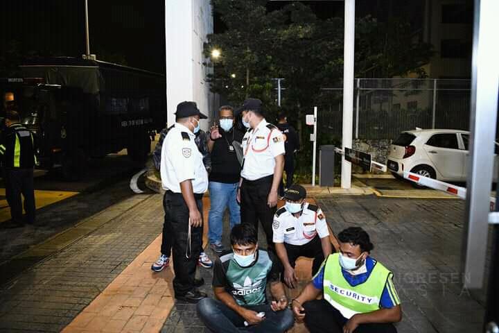 मलेसियामा विदेशी श्रमिकमाथि धरपकड, थप २२ जना पक्राउ