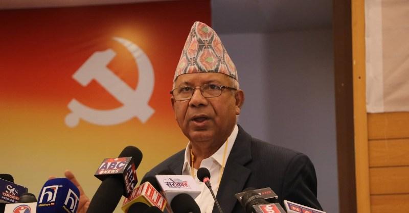 माधव नेपाल पक्षमा ३१ सांसद र ६३ केन्द्रीय सदस्य