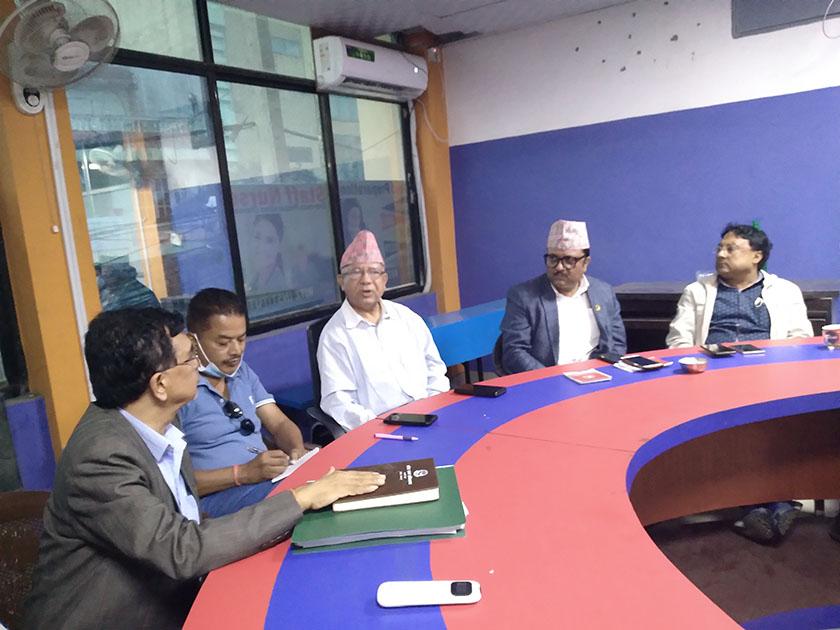 नेकपा (एकीकृत समाजवादी) को पत्रकार सङ्गठनको नाम समाजवादी प्रेस नेपाल