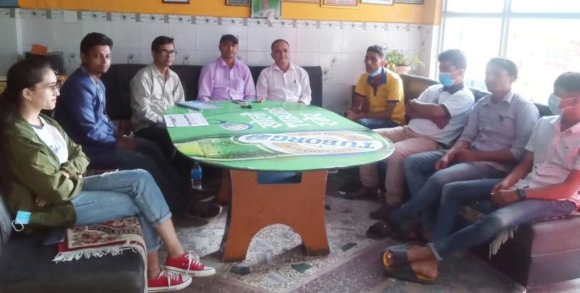 प्रेस संगठन नेपालको झापा माईपश्चिम कमिटी गठन