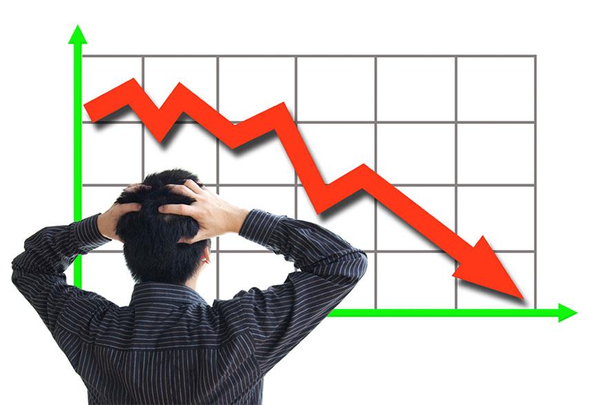 शेयर बजारमा उच्च गिरावट