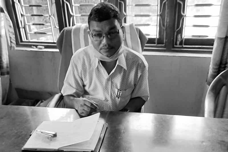 सुनसरीमा एक वडाध्यक्षको निधन