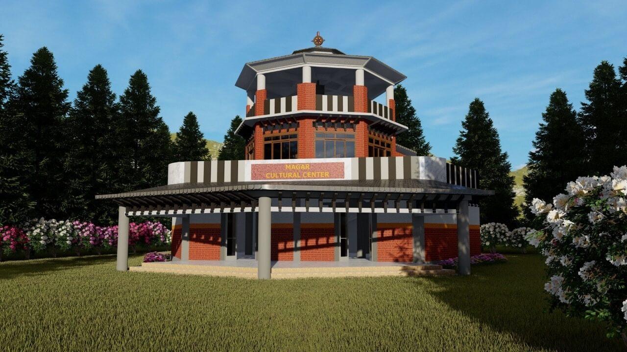 पर्यटकीय क्षेत्र भोगटेनीमा मगर संग्रहालय बन्दै